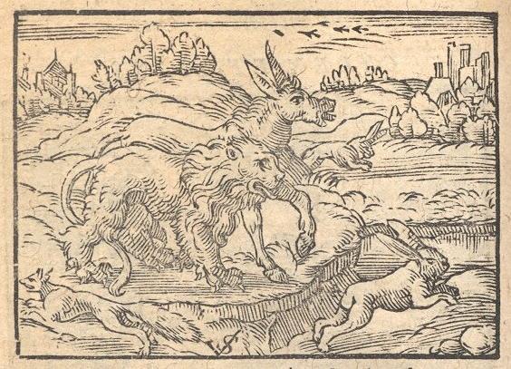 Phryx Aesopus                         Habitu Poetico, by Hieronymus Osius, 1574