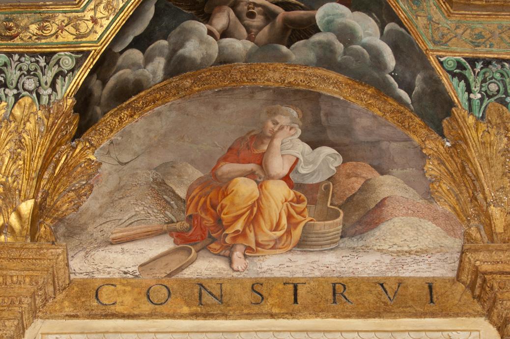 Psiche, Giulio Romano, Palazzo Te, Mantova